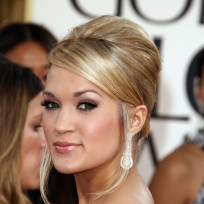 Carrie Underwood at the Golden Globes