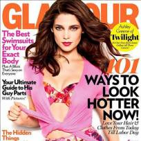 Who looks better on the cover of Glamour?