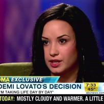 Demi Lovato 20/20 Interview Pic
