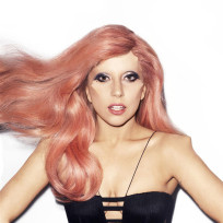 Gaga pretty in pink
