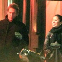 Tinglan hong and hugh grant