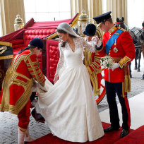 Kate Middleton Wedding Dress Pic