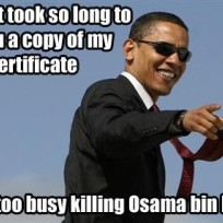 Does bin Laden's demise improve your opinion of Obama?