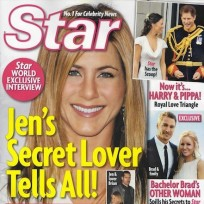 Jennifer Aniston and a Secret Man!