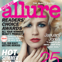 January jones allure cover