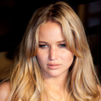 Jennifer Lawrence as a Blonde