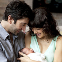 David Schwimmer, Wife and Daughter