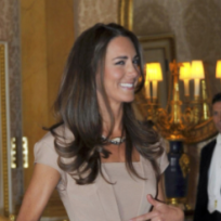 Whose looked better at the palace, Kate or Michelle?