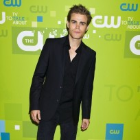 Paul Wesley at the Upfront