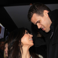 Kim Kardashian and Kris Humphries Pic