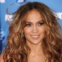 Jennifer lopez at idol finale