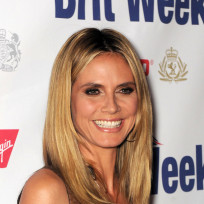 Which hairstyle do you like best on Heidi Klum?
