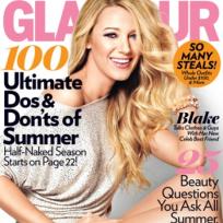 Blake Lively Glamour Cover