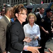 Sarah Palin Shaking Hands