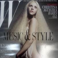 Christina Aguilera Nude for W