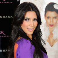 Kim Kardashian in London