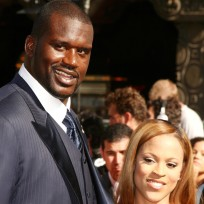 Shaquille and shaunie oneal