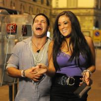 Sammi Giancola and Ronnie Magro Photo