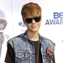 Justin Bieber at the BET Awards
