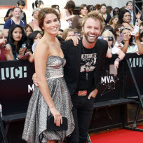 Nikki Reed and Paul McDonald Pic