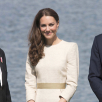 Kate Middleton, White Dress