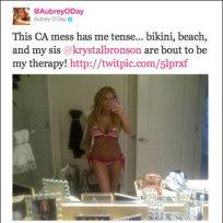 Aubrey O'Day Twit Picq