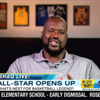Shaquille oneal retirement photo