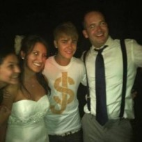 Justin Bieber Wedding Crash Pic