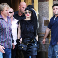 Gaga Goes Black
