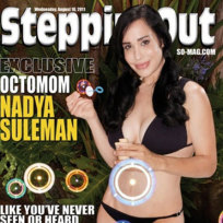 Octomom Steppin' Out Cover