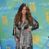 Khloe Kardashian at the TCAs