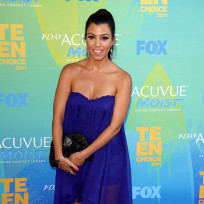 Kourtney Kardashian at the TCAs