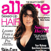Salma Hayek Allure Cover