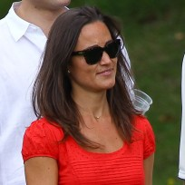 Pippa Middleton, Red Dress