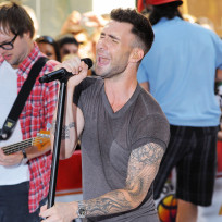 Adam Levine on Stage