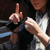 What do you think of Kim Kardashian's engagement ring?