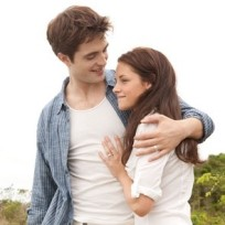 Edward and Bella on Their Honeymoon