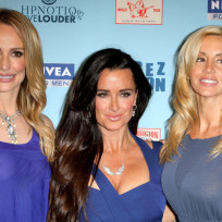 Taylor Armstrong, Kyle Richards and Camille Grammer