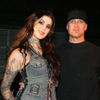 Kat Von D and Jesse James Photo