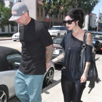 Kat Von D With Jesse James