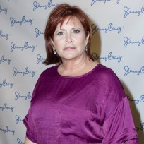 Carrie Fisher Pre-Weight Loss