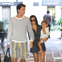 Kourtney, Scott, Mason