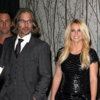 Britney Spears, Jason Trawick at VMAs