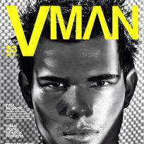 Taylor Lautner VMAN Cover