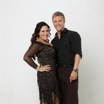 Ricki Lake and Derek Hough