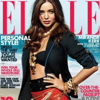 Miranda Kerr Elle Cover