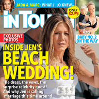 Jennifer aniston wedding scoop