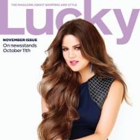 Khloe Kardashian Lucky Cover