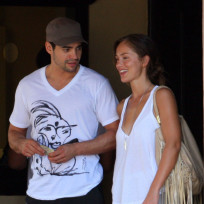 Minka Kelly and Ramon Rodriguez