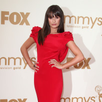 Which hairstyle looks best on Lea Michele?